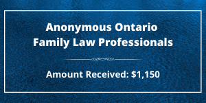 Anonymous Ontario Family Law Professionals (1)